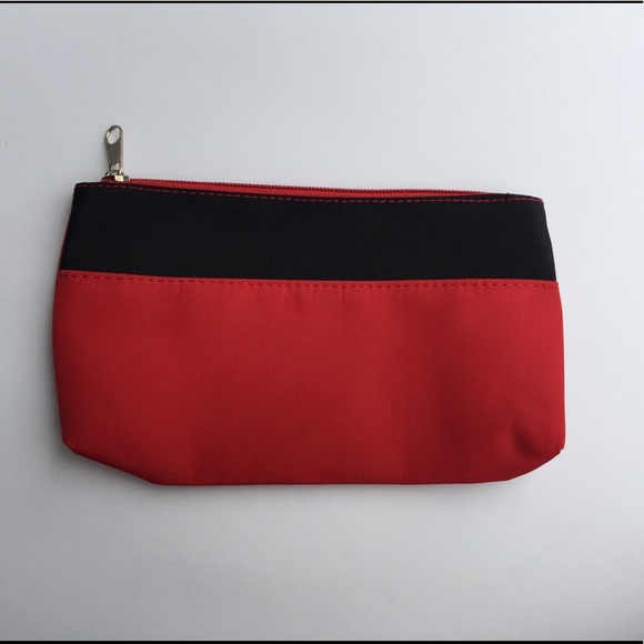 Allure Handbags - Red Cosmetic Pouch